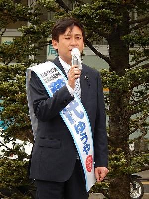 20140403高座渋谷駅出陣式01