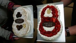 8周年記念ケーキ