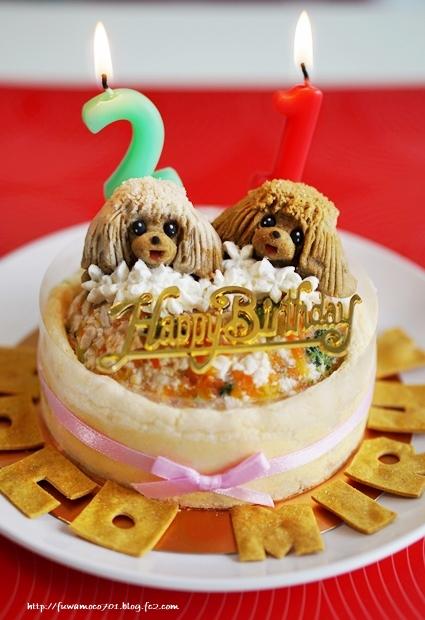 チビプードルモコの毎日☆モコみるくケーキA