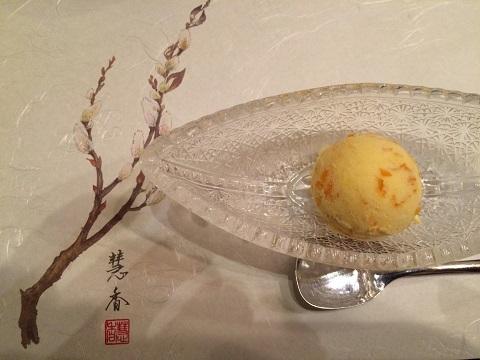 金柑アイス