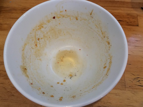 坦々麺完食