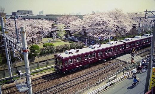 19950408桜ノ宮・阪急140-1