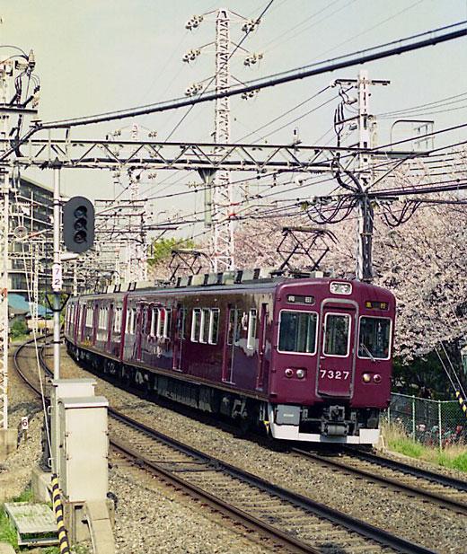 19950408桜ノ宮・阪急151-1