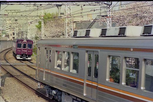 19950408桜ノ宮・阪急154-1