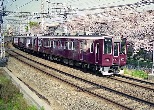19950408桜ノ宮・阪急156-1
