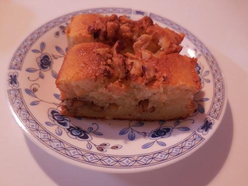 ヨーグルトウォールナッツケーキ♪