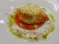 カラスガレイのチーズパン粉焼き