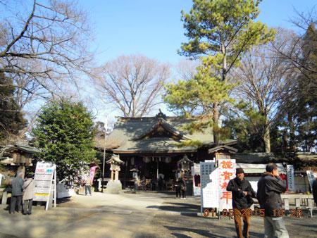 前鳥神社150105