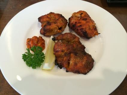 インド料理 パラタ (2)