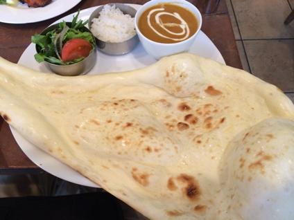 インド料理 パラタ (4)