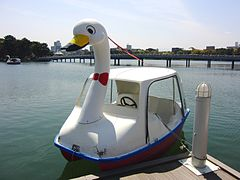240px-Swan_boat_at_Ohori_park.jpg