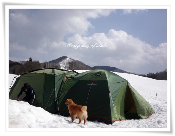 雪上キャンプ201503