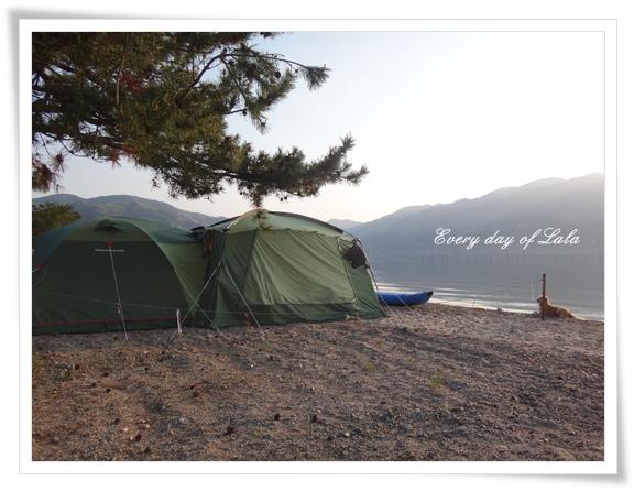 初泳ぎとキャンプ201504