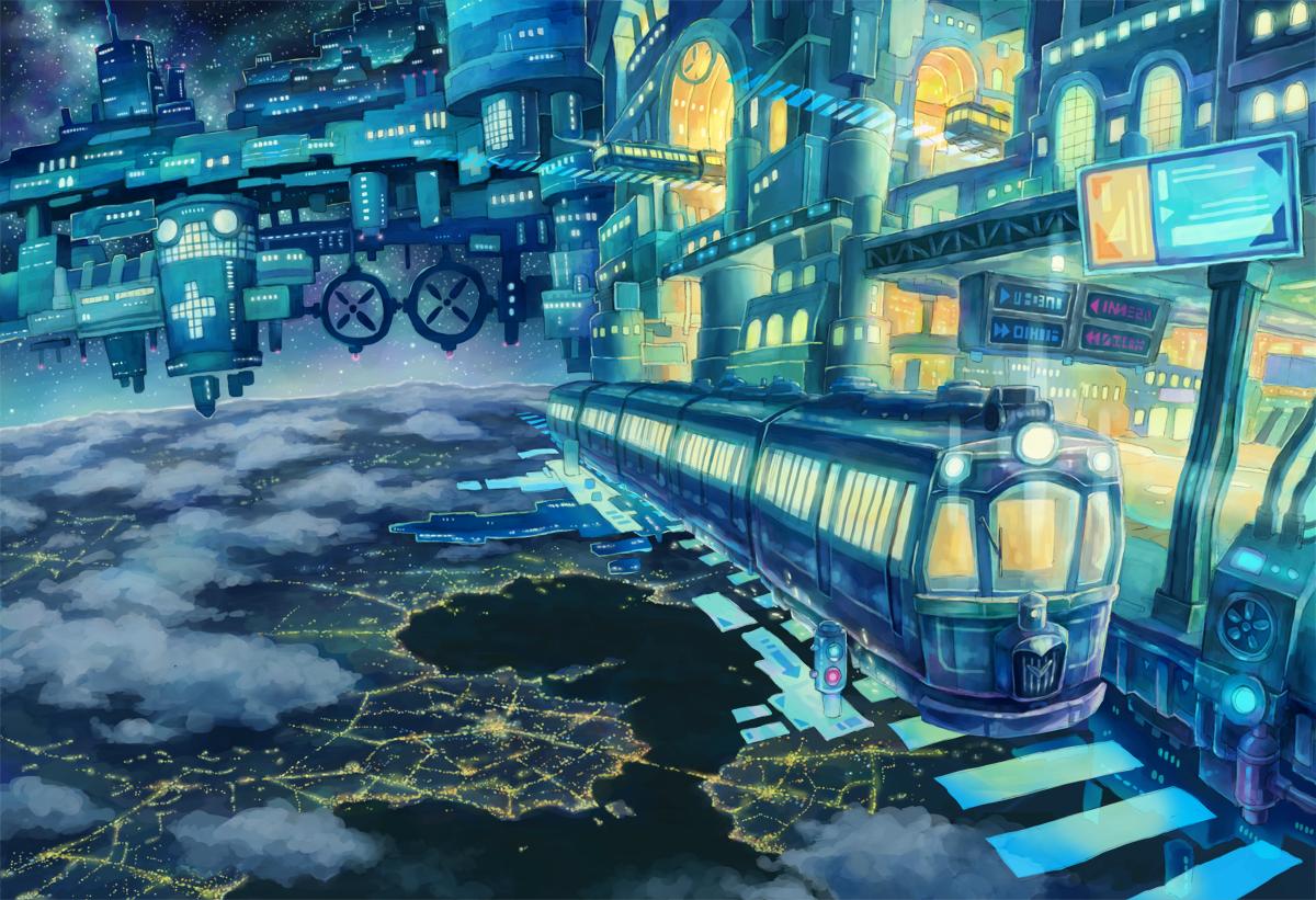 ファンタジー,近未来:空中都市 ...