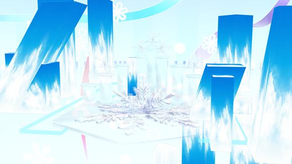 雪ミクステージ(正面上手)up