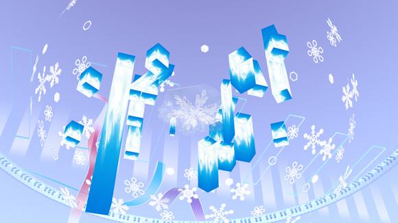 雪ミクステージ(下)up