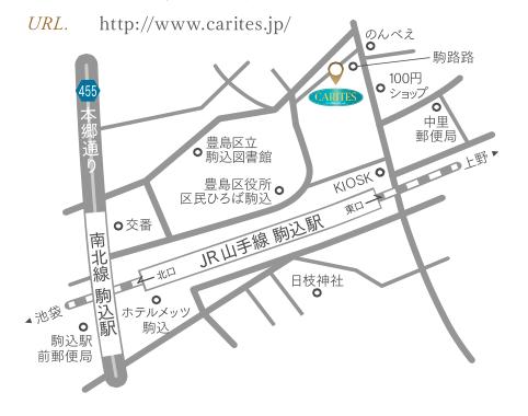 MAP CARITES