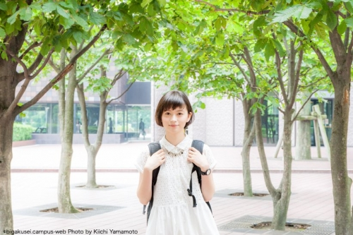 【画像あり】ショートカットの美人女子大生 中沢結 中学・高校と野球部のマネージャー 野球観戦が好き