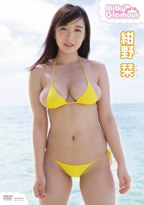 「ほとんど裸でした」、すごいFカップの新人グラドル 紺野栞がデビュー