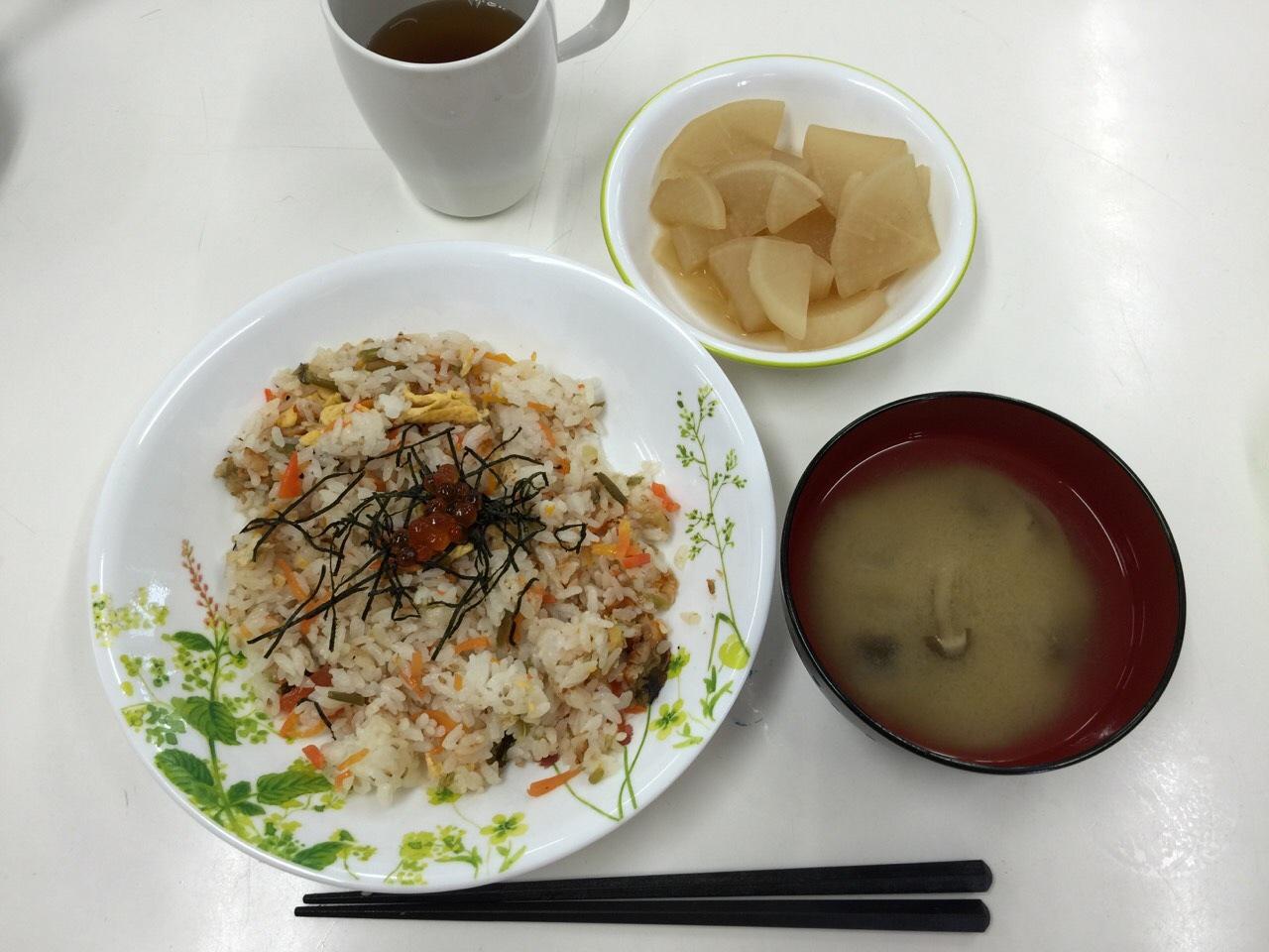 調理ご飯1