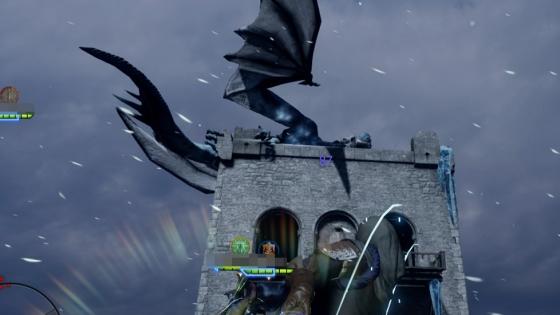 塔の上のドラゴン