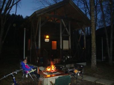 キャンプ 阿寒赤いベレー 045
