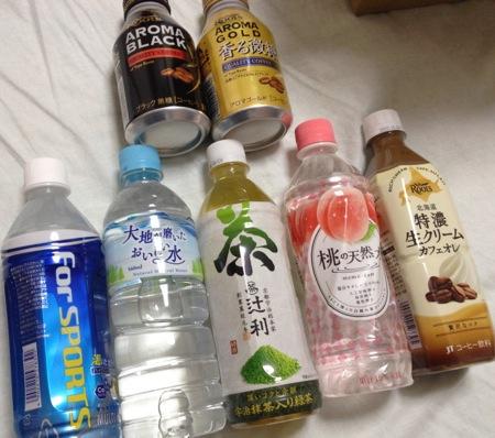 日本たばこ産業 飲料詰め合わせの内容