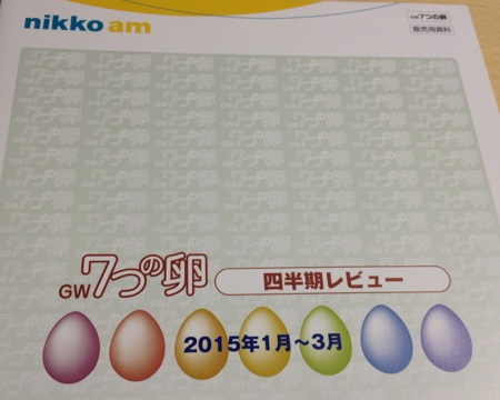 GW7つの卵 運用報告書