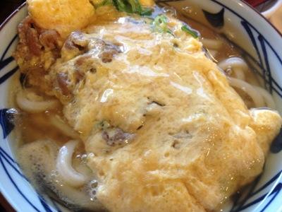 丸亀製麺 だし玉肉うどん
