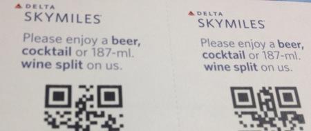 アルコール無料チケット