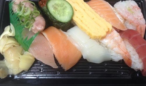 持ち帰りお寿司