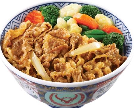 野菜牛肉飯