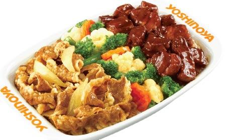 東坡肉牛肉雙拼飯