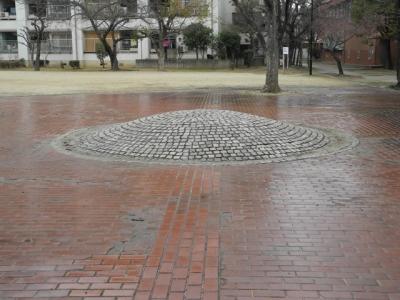 住吉酒造の井戸跡
