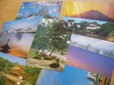 旅行先でポストカード購入2015-3