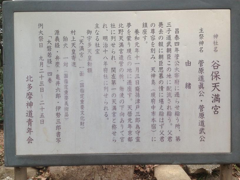 谷保天満宮7