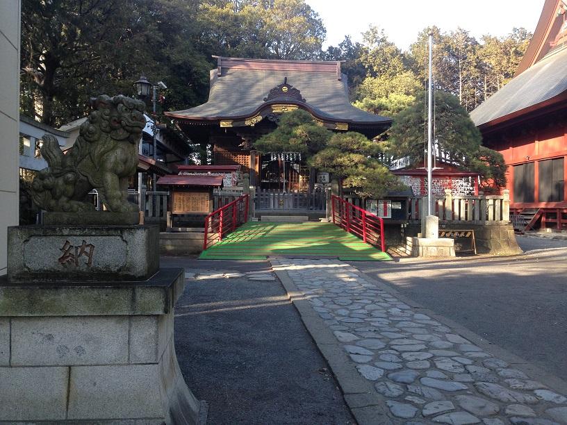 日吉神社 拝島 (7)1