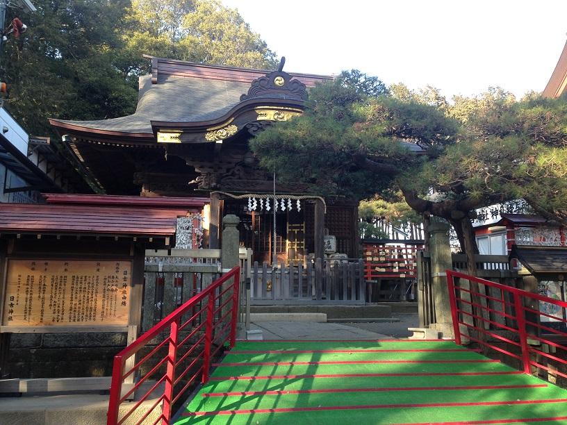 日吉神社 拝島 (1)1