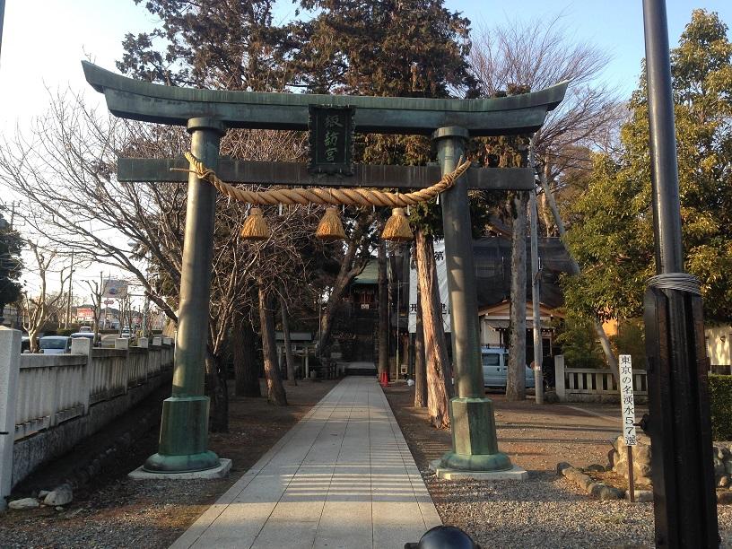 諏訪神社 昭島市 (4)1