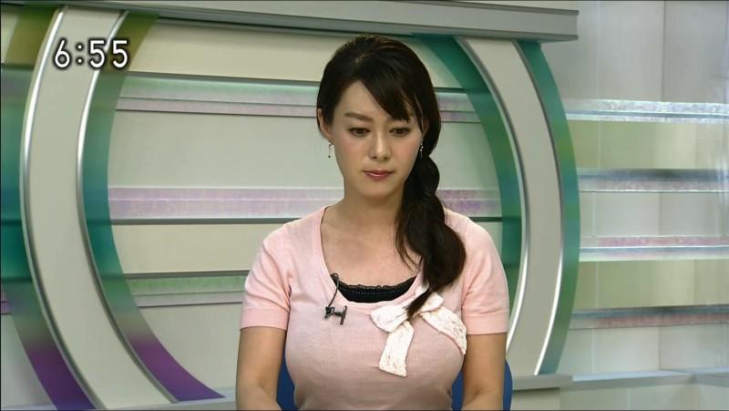 NHKのHカップ女子アナ・竹中知華