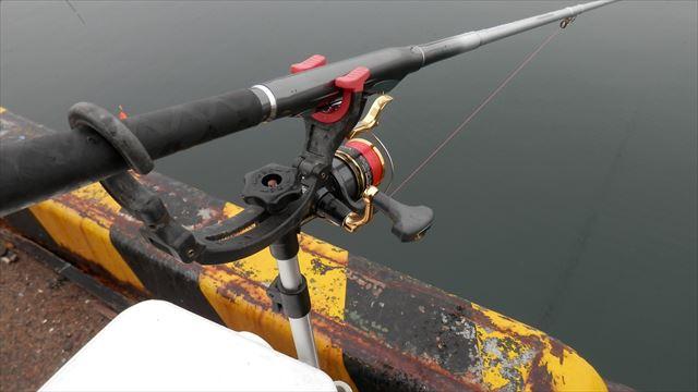 9:52 釣り開始 ♪
