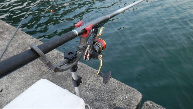 6:11 釣り開始 ♪