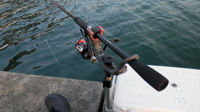 6:23 釣り開始