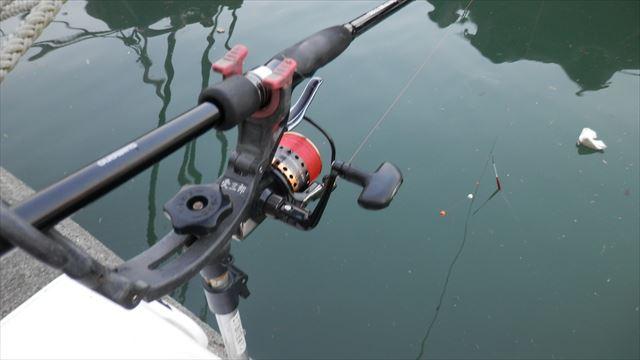 6:20 釣り開始 ♪