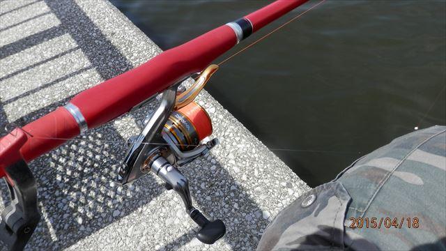 11:07 釣り開始 ♪