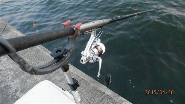 5:18 釣り開始 ♪