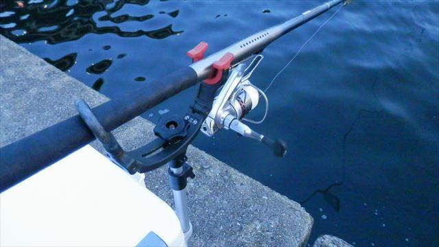 4:53 釣り開始 ♪