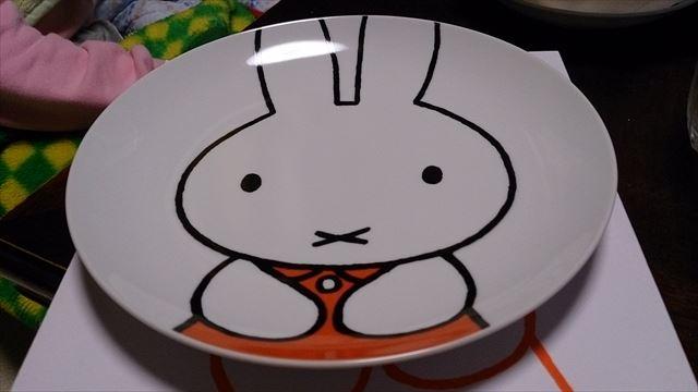 ミッフィーちゃんのお皿 ^^