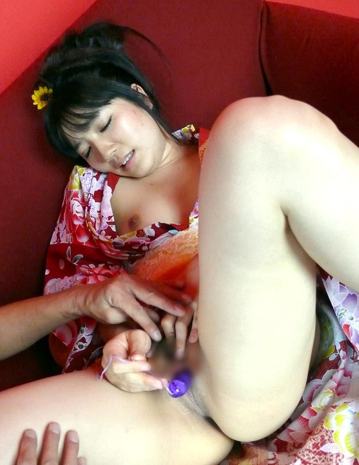 着物 浴衣 セックス エロ画像 26