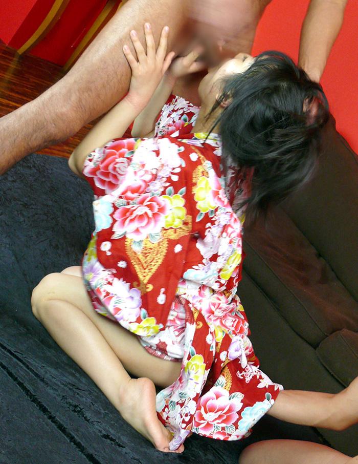 着物 浴衣 セックス エロ画像 29